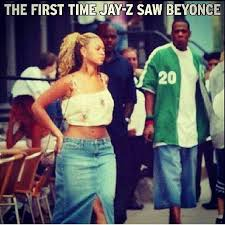 Jay Z Beyonce Meme - the first time jay z saw beyonce r loops shop