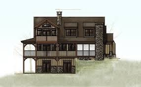 Mountain Cottage House Plans by Smoky Mountain Cottage Crafstman Rustic Cottage House Plan