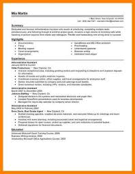 7 administrative assistant resume letter adress