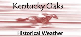 Weather Hale Barns Historical Kentucky Oaks Weather