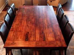 Cherry Dining Room Furniture Reclaimed Wood Dining Table Diy New Split Level House