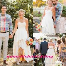 discount simple beach country wedding dresses 2016 cheap lace