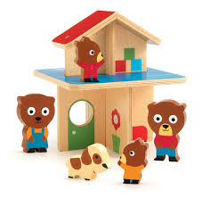 Mini Home by Djeco Dj06386 Mini Home Toddler Wooden Play House At Crafts4kids