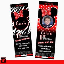 birthday invitation card minnie mouse alanarasbach com