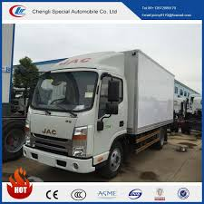 3 8tons jac carrier or thermo king chiller truck mini chiller van