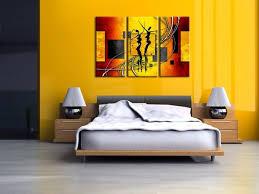 tableau pour chambre à coucher agréable deco chambre adulte peinture 1 tableau peinture pour