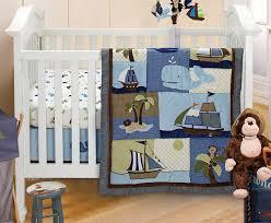 Nojo Crib Bedding Set Nautical Nursery Bedding Ideas Lostcoastshuttle Bedding Set