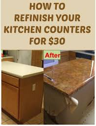 Diy Kitchen Countertops Ideas Best 10 Refinish Countertops Ideas On Pinterest Cheap Granite