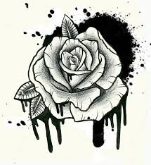 outline rose tattoos tattoo collection