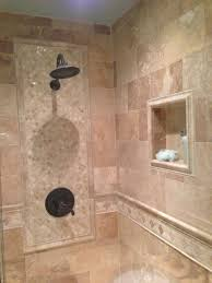pictures of bathroom walls with tile walls which incorporate a bath