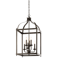 Kichler Lighting Lights by Kichler 42568ni Six Light Foyer Chandelier Ceiling Pendant