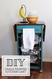 dining room cart diy painted kitchen cart amber downs