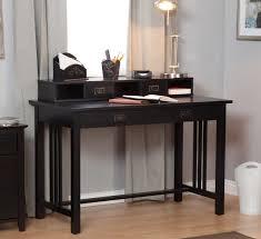 Computer Desk With Hutch Black by Black Modern Desk