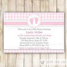 baby shower invitations u2013 pink the cat