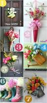 spring door decor ideas front wreath pinterest halloween