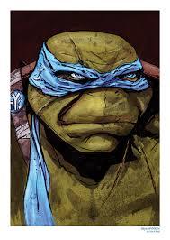 Leonardo Teenage Mutant Ninja Turtle Print Desenhos Em Geral