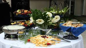 Informal Table Setting by Decorating Round Tables Buffet Table Idea Informal Table Setting