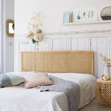 chambre rotin tete de lit cannée vente de meubles en tiges de rotin chambre