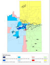 Primary Map Mapping The Vote County Commish Race The Spokesman Review
