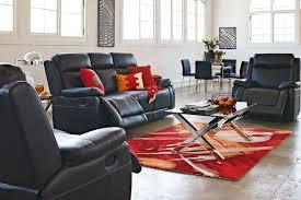Harvey Norman Recliner Chairs Mayfair 3 Piece Leather Recliner Lounge Suite Harvey Norman New