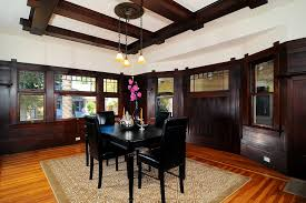 dark dining room dining room traditional with yellow urn beige