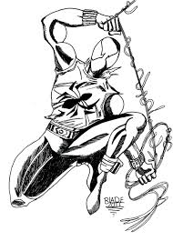 scarlet spider coloring pages