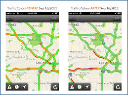La Traffic Map Avoid More Traffic And Pain With New Traffic Colors Inrix