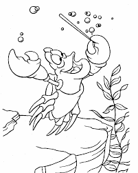 mermaid coloring pages disney free printable sheets
