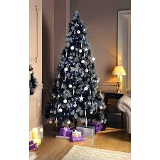 silver tipped black tree 7ft trees b m