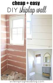 quick and easy home improvements best 25 diy shiplap walls ideas on pinterest shiplap diy ship