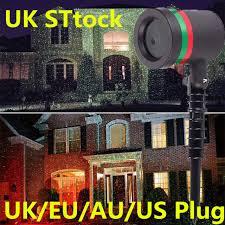 Projector Christmas Lights Outdoor Star Projector Christmas Lights Ebay
