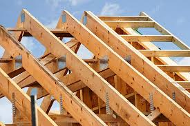 a frame roof standard timber frame roof structure stock photo stocksolutions