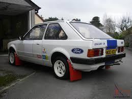 escort mk3 rwd conversion rally race car rare car based on mk2
