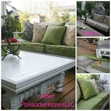 fixer upper patio white painted patio furniture fabric com
