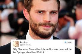 50 shades the scene where christian grey shaves ana s pubic hair jamie dornan s penis won t be in fifty shades of grey and some