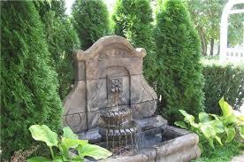 elegant large outdoor wall water fountains garden fountain design
