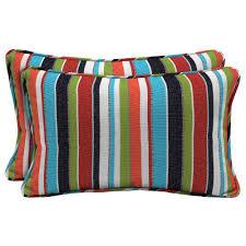 home decorators outdoor pillows home decorators collection sunbrella carousel confetti lumbar