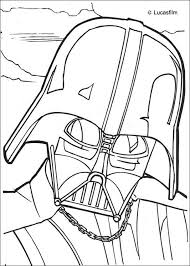 darth vader mask coloring pages hellokids