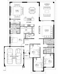 single story 4 bedroom house plans house plan inspirational two storey house plans with 4 bedrooms