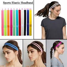 elastic headband 2017 headbands elastic headband softball anti slip