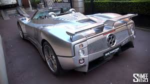pagani dealership pagani zonda f roadster silver u0027s u0027 lookalike youtube
