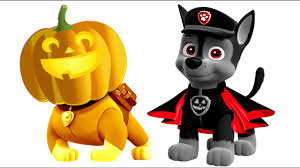 paw patrol halloween pumpkin coloring pages for kids paw patrol