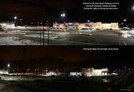 Lighting Store Kitchener Lights Overnight At Kitchener Walmart To Help Reduce Light