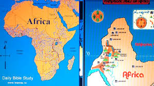 Peters Projection Map Africa Disoriented How Nwo Maps Are Upside Down Ask Rastafari