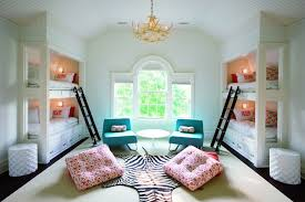 Cool Bunk Beds For Tweens Lacquered Bunk Beds Contemporary S Room Burke Design