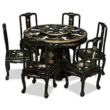 amazon com china furniture online black lacquer dining table