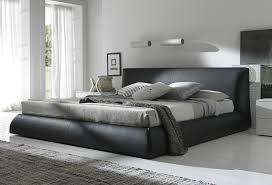 Platform King Bed Home Design 85 Wonderful Black Leather Bed Frames