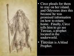 Tiresias The Blind Prophet Odyssey The Adventure Of Odysseus