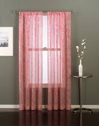 paisley sheer curtain panel curtainworks com