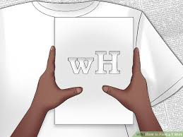 3 ways to paint a t shirt wikihow